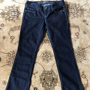 EXPRESS Barely Boot Jeans, Slim Fit, Sz 0 Short